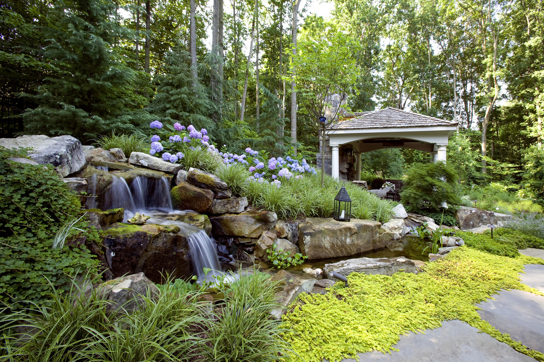 Gardens greg hadley photography architectural photography for Garden pond grills